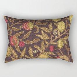 William Morris Vintage Victorian Floral Pattern Rectangular Pillow