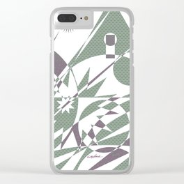 The Summit Afterglow Clear iPhone Case