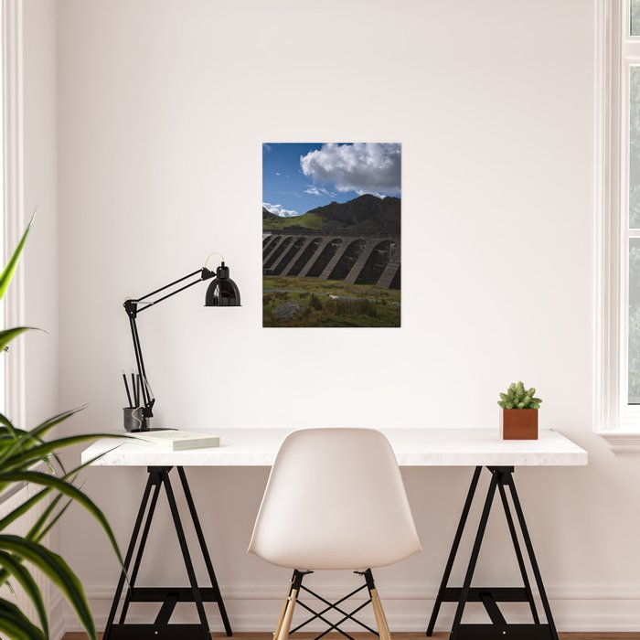 Stwlan Dam Poster