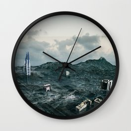 Survival of the tallest Wall Clock