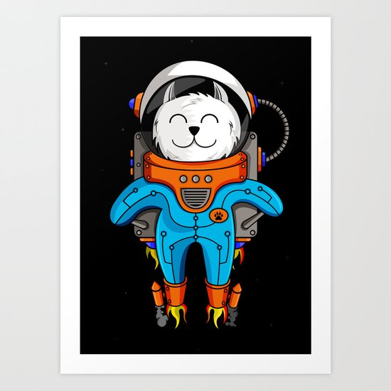 Intercatlactic! to the delicious Milky way!!! Art Print