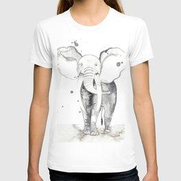 aquarela Elefante T-shirt