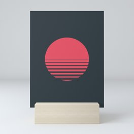 Red Sun Mini Art Print