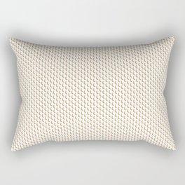 Banana fruit pattern Rectangular Pillow