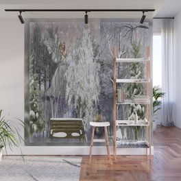 The Magic Of A Winter Day Wall Mural