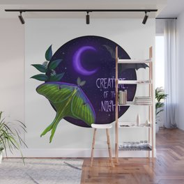 Creature of the night Wall Mural