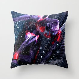 Evangelion NERV Eva 01 Throw Pillow