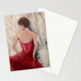 """Opulence"" Ballroom Dancer Stationery Cards"