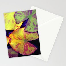 lily pads IIX Stationery Cards