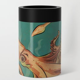 Squid & Tiki Can Cooler
