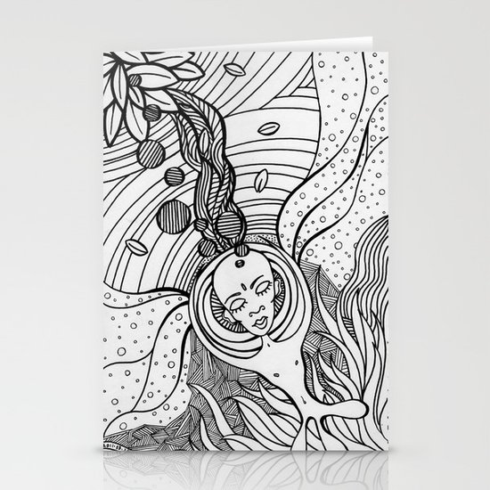 Cosmic Elevation Stationery Cards