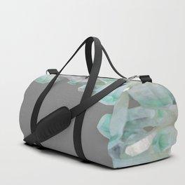 GEMMY CRYSTALS GREY ART Duffle Bag