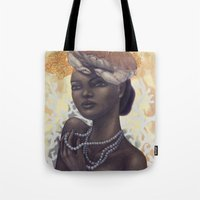 cancer Tote Bags featuring Cancer by Artist Andrea