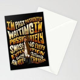 Smashing every expectation Stationery Cards