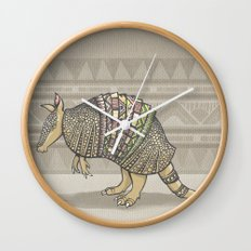 Abstract Armor Wall Clock