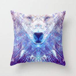 Ursa Major The Star Bear Throw Pillow