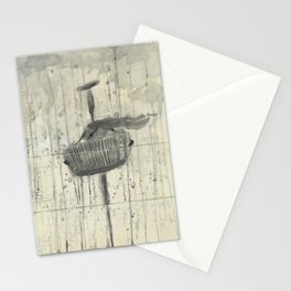 """ACCORDION. A SERIES OF WORKS """"MUSIC OF THE RAIN"""" Stationery Cards"""