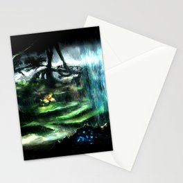 Metroid Metal: Tallon Overworld- Where it All Begins Stationery Cards