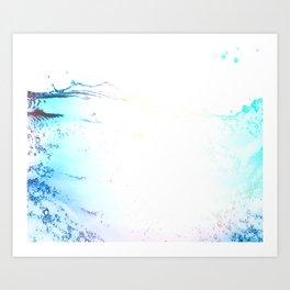 Bright Rising Tide  Art Print