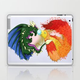 The Dragon And The Phoenix Laptop & iPad Skin