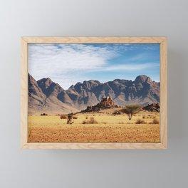 Namib Desert, Namibia Framed Mini Art Print