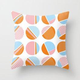 rund pattern Throw Pillow