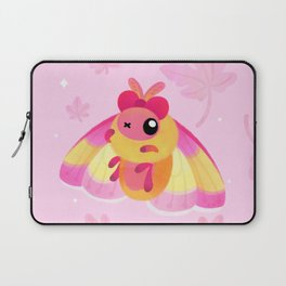 Rosy Maple Moth Laptop Sleeve