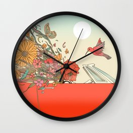 Passing Existence Wall Clock