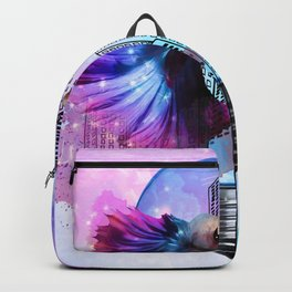 city fish Backpack