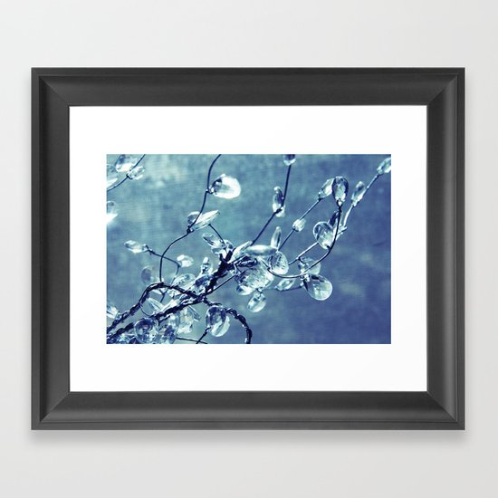Crystalize Framed Art Print