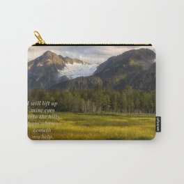I Will Lift Up mine Eyes Carry-All Pouch