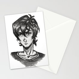 EDGY SPACE BOI Stationery Cards