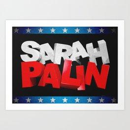 All American Art Print