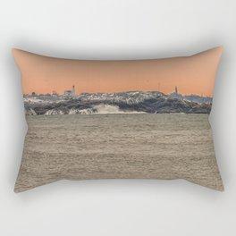 Bakers Island Light from Magnolia Rectangular Pillow