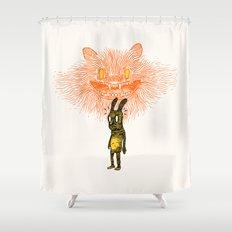 Scared Stiff Shower Curtain