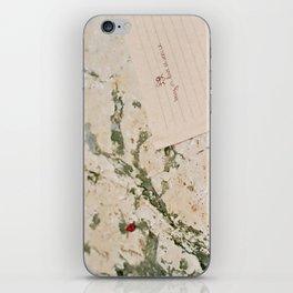 being in love in venice iPhone Skin