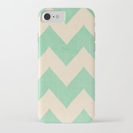 Malibu - Chevron iPhone Case