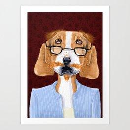 Mr. Retired Art Print