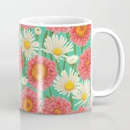 Kitschy Daisy Bouquet Coffee Mug