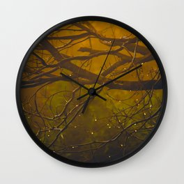 Glory - color Wall Clock