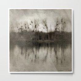 LANDSCAPE Water - Gerald Robin Grafdesign © Metal Print