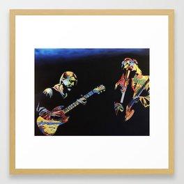 Derek & Susan Framed Art Print