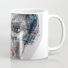 A Colorful Face of An Woman Coffee Mug