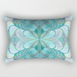 Abalone Shell Nautilus Kalidescope Rectangular Pillow
