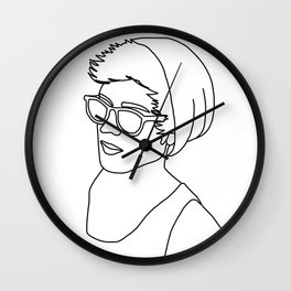 Major Bro Wall Clock