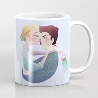 uncharted Mugs featuring Tears in a Jar by Serena Rocca