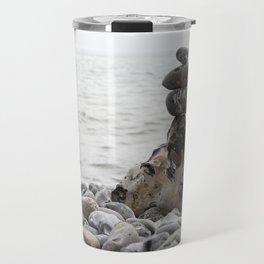 Stones at the sea Travel Mug
