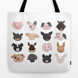 Piggish Allsorts Tote Bag