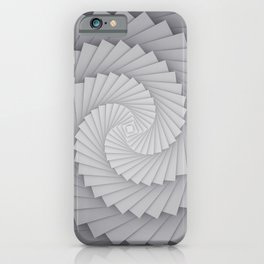Abstract Spyral iPhone Case