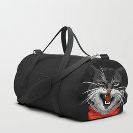 The Cat with a golden tooth Duffle Bag